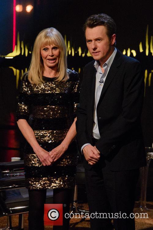 Britt Ekland and Fredrik Skavlan 1