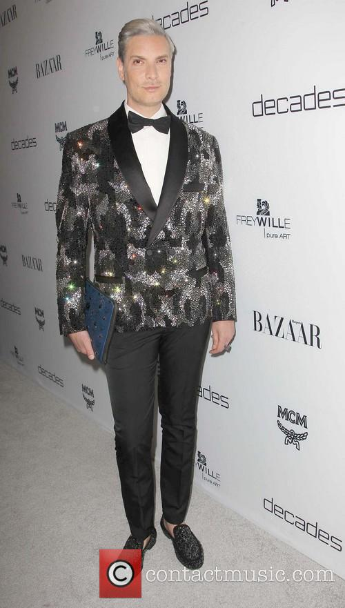 cameron silver harpers bazaar celebrates the launch 3534253