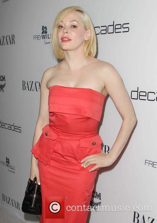 rose mcgowan harpers bazaar celebrates the launch 3534314