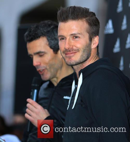 David Beckham and Adidas 2