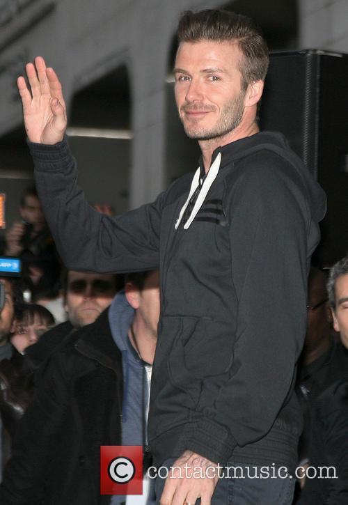 David Beckham and Adidas 3