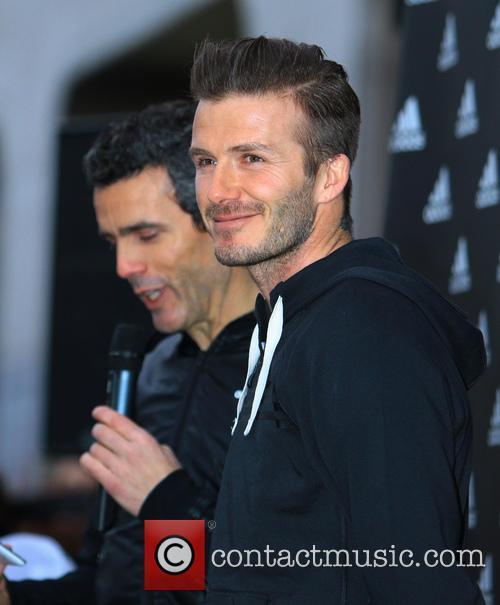David Beckham and Adidas 1