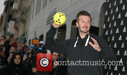 David Beckham and Adidas 4