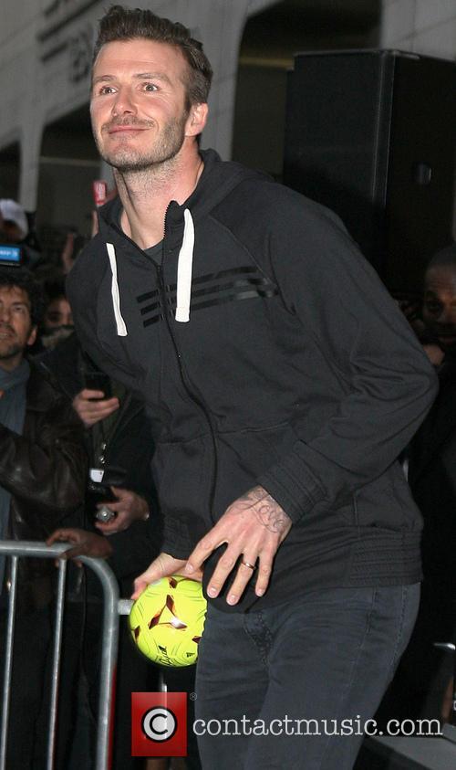 David Beckham and Adidas 5