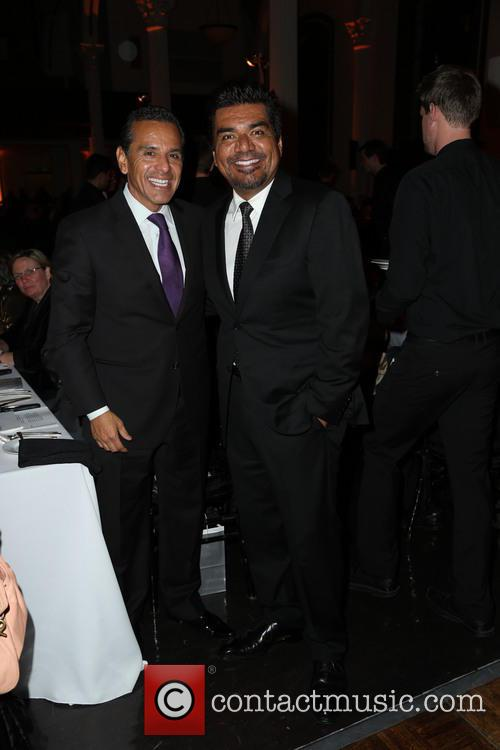 Mayor Antonio Villaraigosa and George Lopez 2