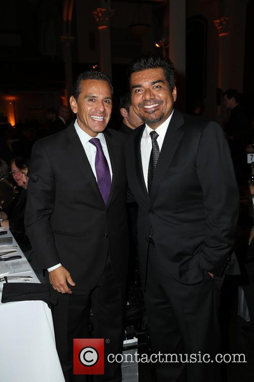 Mayor Antonio Villaraigosa and George Lopez 1