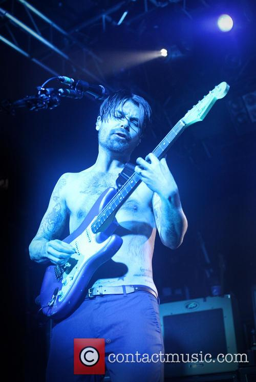 Biffy Clyro performing at the Nosturi Club
