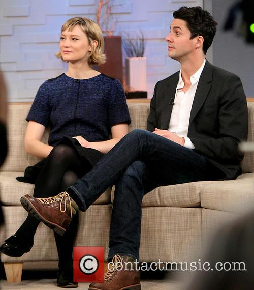 Mia Wasikowska and Matthew Goode 1