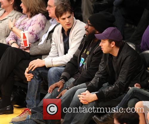 Ashton Kutcher, Staples Center