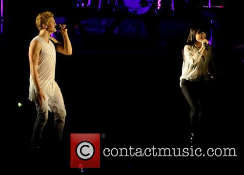 Cody Simpson and Carly Rae Jepsen at the NIA