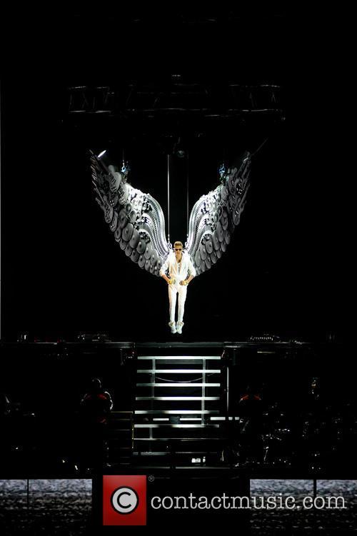 Justin Bieber concert UK
