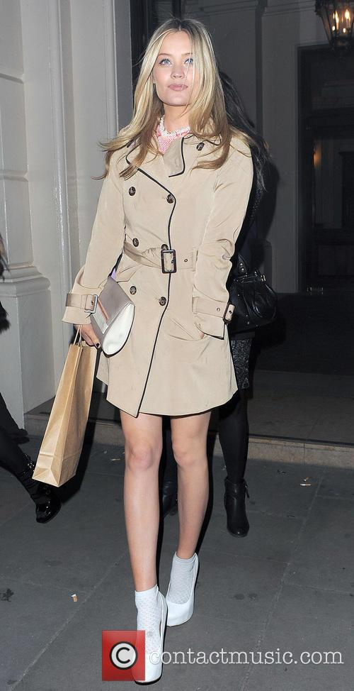 Laura Whitmore Leaving The Comic Relief Party