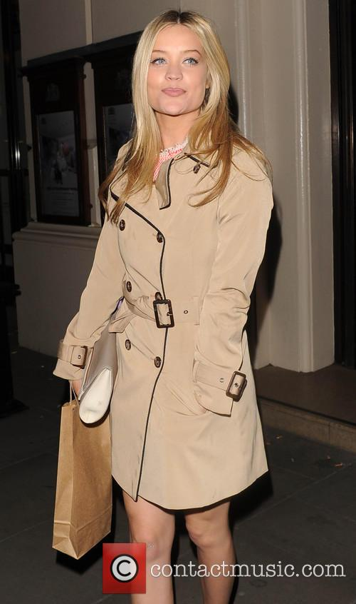 Laura Whitmore leaves the Royal Opera House