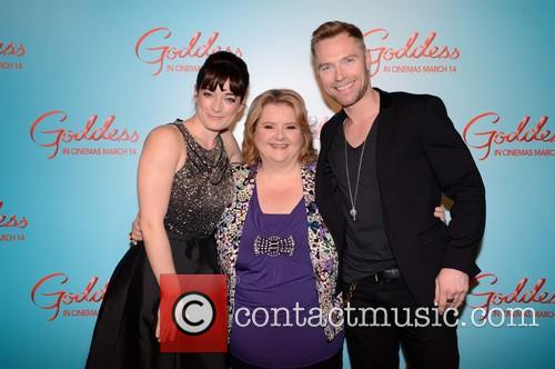 Laura Michelle Kelly, Magda Szubanski and Ronan Keating