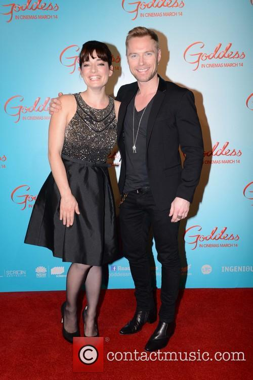 Laura Michelle Kelly and Ronan Keating 2