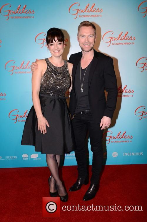Laura Michelle Kelly and Ronan Keating 1