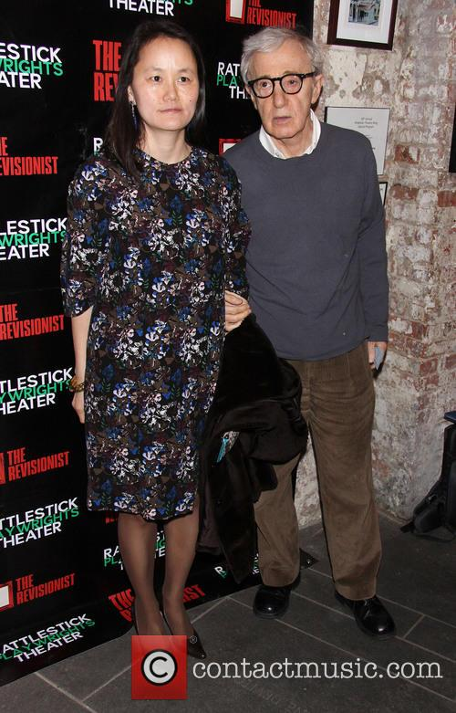 Soon-yi Previn and Woody Allen 3