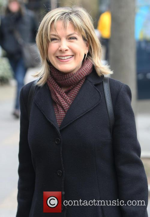 penny smith celebrities outside the itv studios 3532396