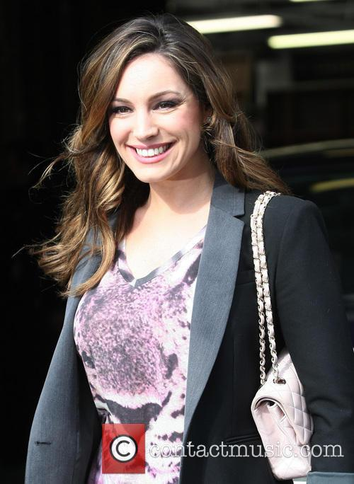 kelly brook celebrities outside the itv studios 3532419