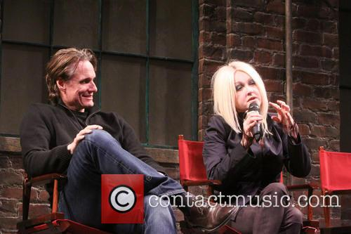 John Shivers and Cyndi Lauper 1