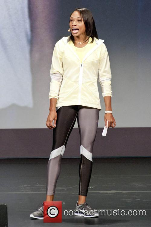 Michelle Obama and Allyson Felix 10