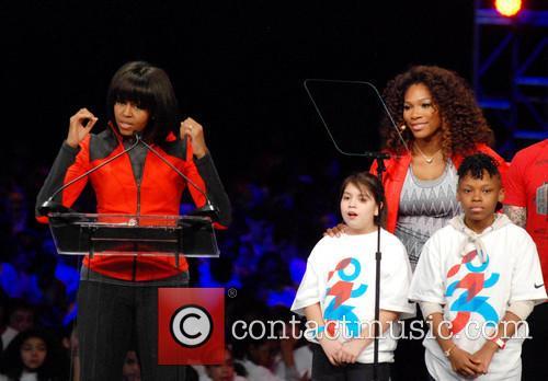 Michelle Obama and Serena Williams 6