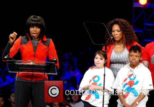 Michelle Obama and Serena Williams 8