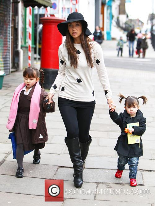 Myleene Klass, Hero Quinn and Ava Quinn 8