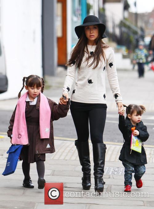 Myleene Klass, Hero Quinn and Ava Quinn 9