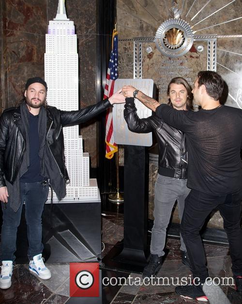Swedish House Mafia, Steve Angello, Axel Christofer Hedfors and Sebastian Ingrosso 6