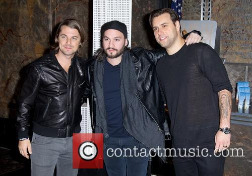 Swedish House Mafia, Steve Angello, Axel Christofer Hedfors and Sebastian Ingrosso 7