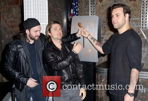 Swedish House Mafia, Steve Angello, Axel Christofer Hedfors and Sebastian Ingrosso 8
