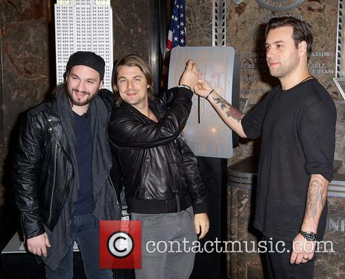 Swedish House Mafia, Steve Angello, Axel Christofer Hedfors and Sebastian Ingrosso 10