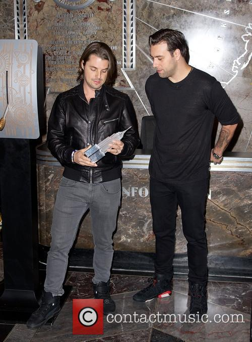Swedish House Mafia, Steve Angello, Axel Christofer Hedfors and Sebastian Ingrosso 11