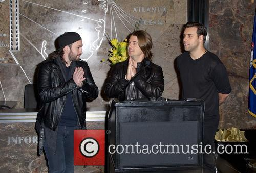 Swedish House Mafia, Steve Angello, Axel Christofer Hedfors and Sebastian Ingrosso 12