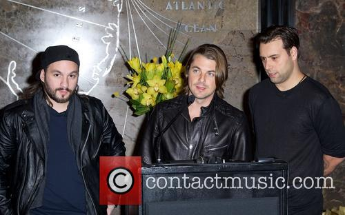 Swedish House Mafia, Steve Angello, Axel Christofer Hedfors and Sebastian Ingrosso 14