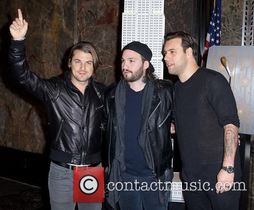 Swedish House Mafia, Steve Angello, Axel Christofer Hedfors and Sebastian Ingrosso 15