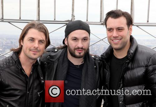 Swedish House Mafia, Axel Christofer Hedfors, Steve Angello and Sebastian Ingrosso 4