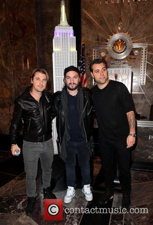 Swedish House Mafia, Axel Christofer Hedfors, Steve Angello and Sebastian Ingrosso 5