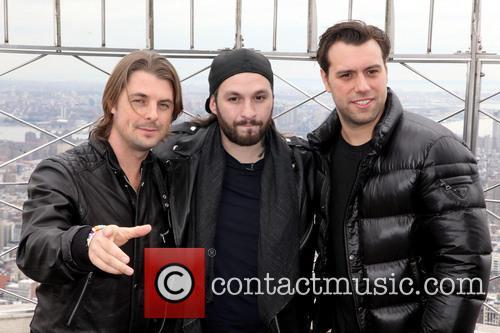 Swedish House Mafia, Axel Christofer Hedfors, Steve Angello and Sebastian Ingrosso 6