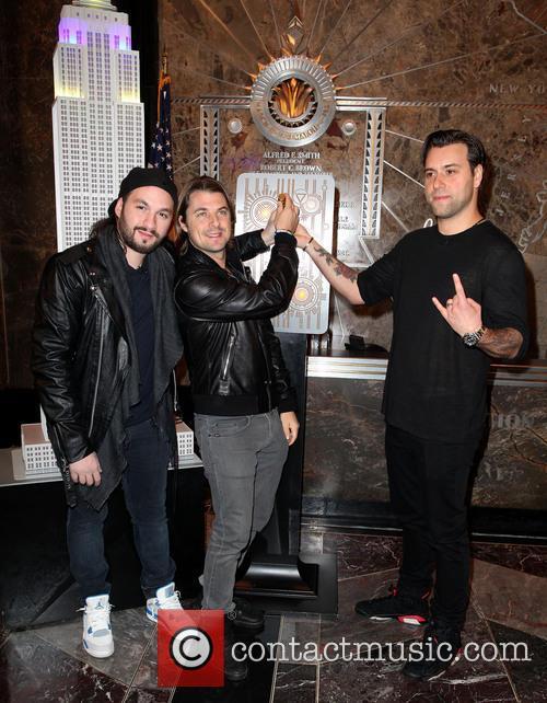 Swedish House Mafia, Axel Christofer Hedfors, Steve Angello and Sebastian Ingrosso 9
