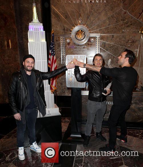 Swedish House Mafia, Axel Christofer Hedfors, Steve Angello and Sebastian Ingrosso 11