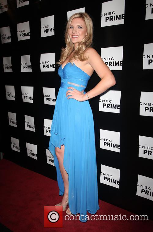 Catherine Knebel At Premiere Launch Event For Cnbc Prime At The Classic Car Club In New York City. 2