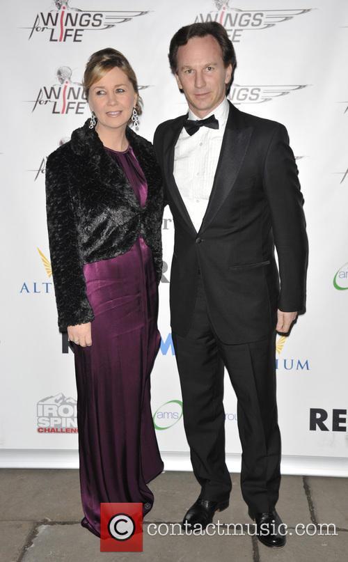 Christian Horner and Beverly Allen 3