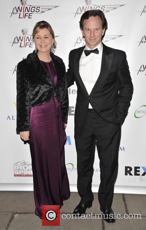 Christian Horner and Beverly Allen 4
