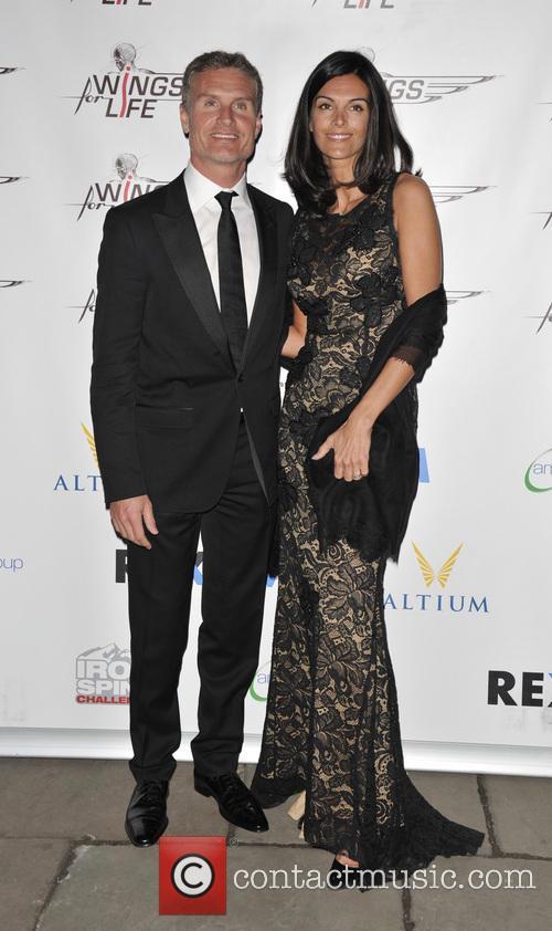 David Coulthard and Karen Minier 2