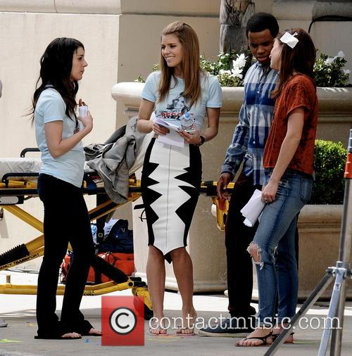 Shenae Grimes, Tristan Wilds and Annalynne Mccord 1