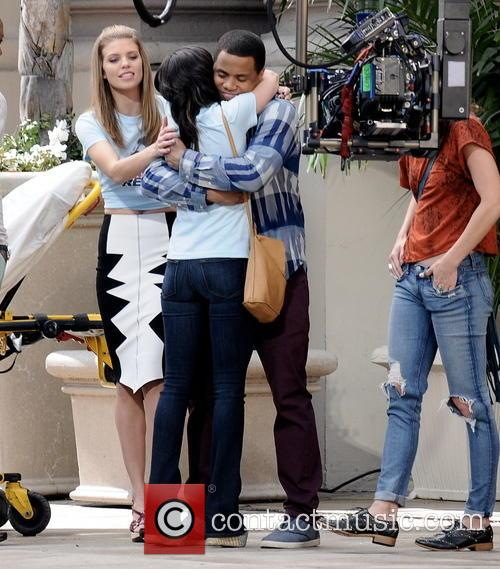 Shenae Grimes, Tristan Wilds and Annalynne Mccord 5