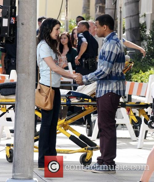 Shenae Grimes and Tristan Wilds 3