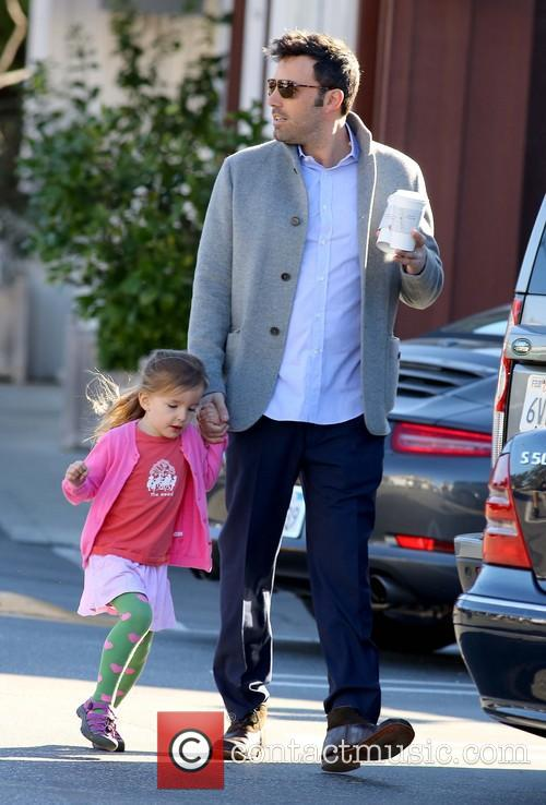 Ben Affleck and Seraphina Affleck 7